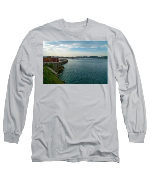 Coastline Of The Bay Long Sleeve T-Shirt