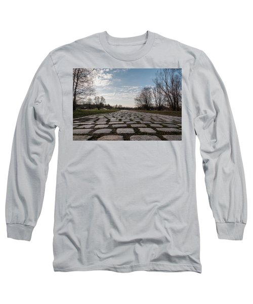 Cobble-stones Long Sleeve T-Shirt by Sergey Simanovsky
