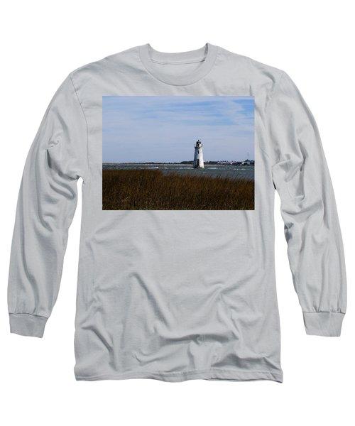 Cockspur Lighthouse Long Sleeve T-Shirt