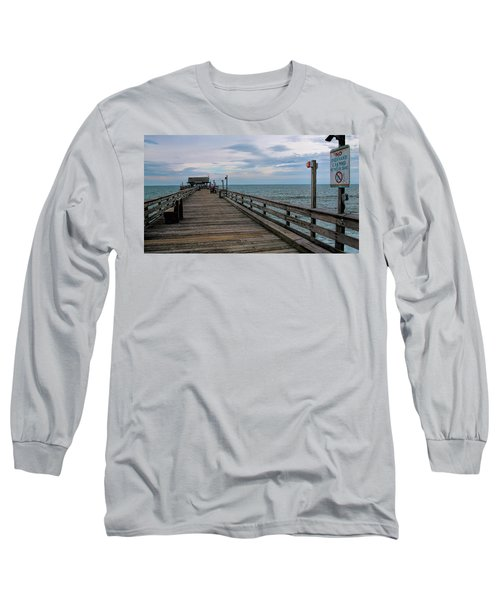 Cocoa Beach  Long Sleeve T-Shirt by Pat Cook