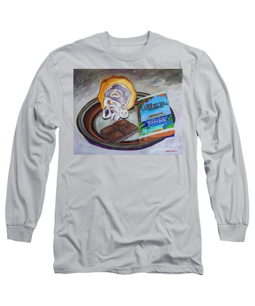 Cocoa Pod To Chocolate Bar Long Sleeve T-Shirt