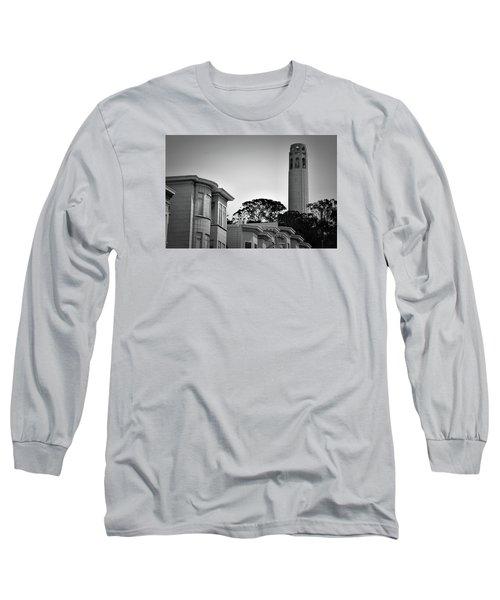 Coit Tower Long Sleeve T-Shirt