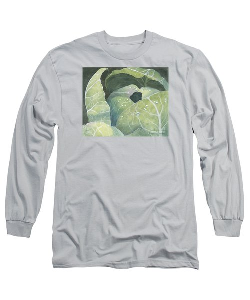 Cold Crop Long Sleeve T-Shirt by Phyllis Howard