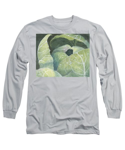 Cold Crop Long Sleeve T-Shirt