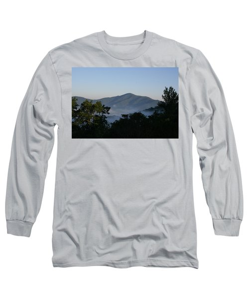 Cold Mountain North Carolina Long Sleeve T-Shirt by Stacy C Bottoms