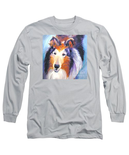Collie Sable Rough 2 Long Sleeve T-Shirt