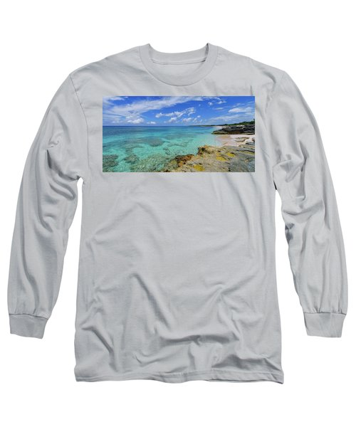 Color And Texture Long Sleeve T-Shirt