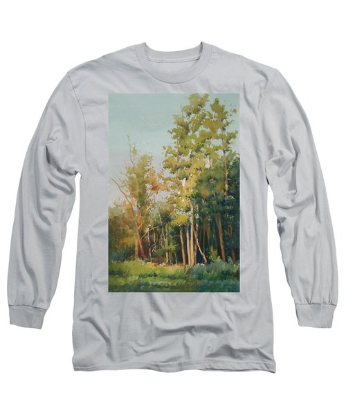 Color Of Light Long Sleeve T-Shirt by Helal Uddin
