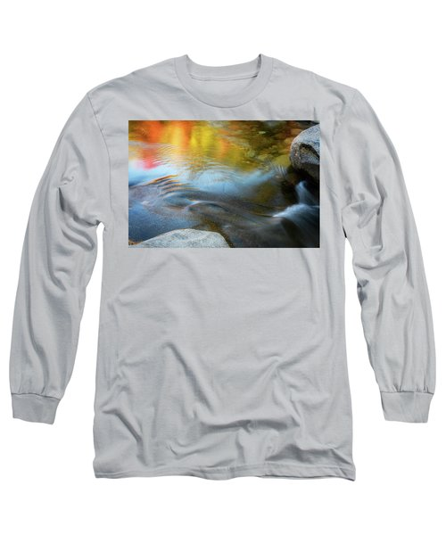 Color On The Swift River Nh Long Sleeve T-Shirt