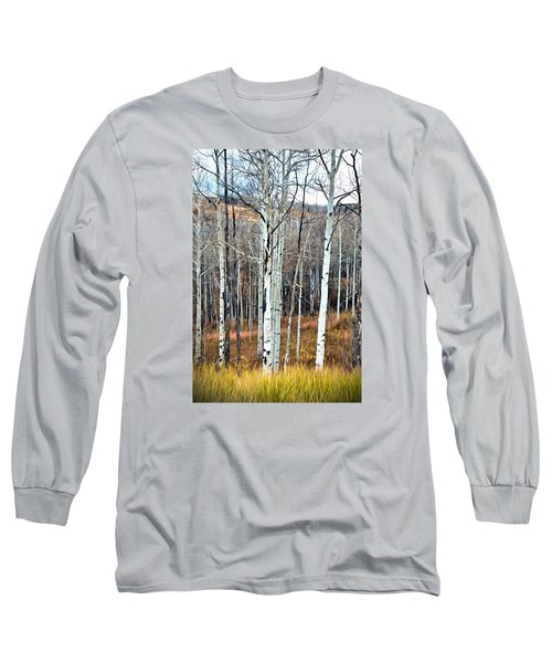 Colorado Fall Aspen Long Sleeve T-Shirt