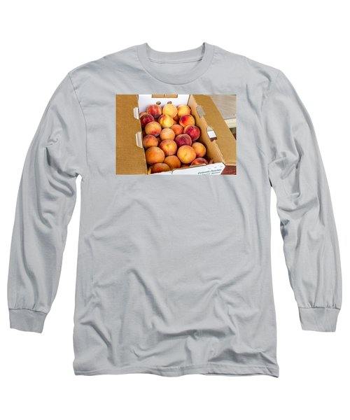 Colorado Peaches Ready For Market Long Sleeve T-Shirt