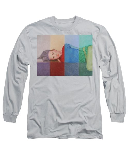 Colorful Girl Long Sleeve T-Shirt