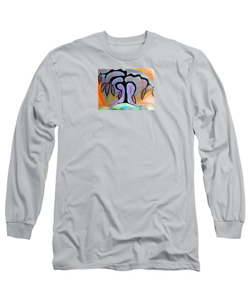 Colorful Life Long Sleeve T-Shirt