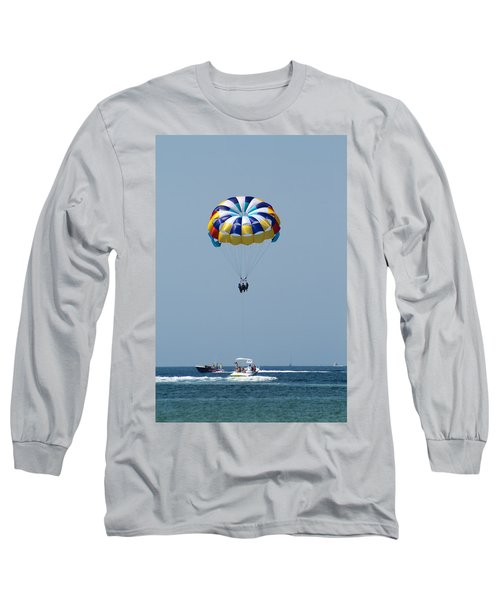 Colorful Parasailing Long Sleeve T-Shirt
