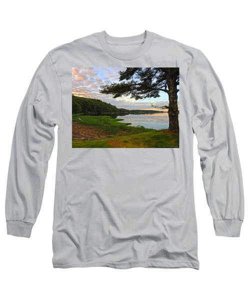 Colors Of The River Long Sleeve T-Shirt