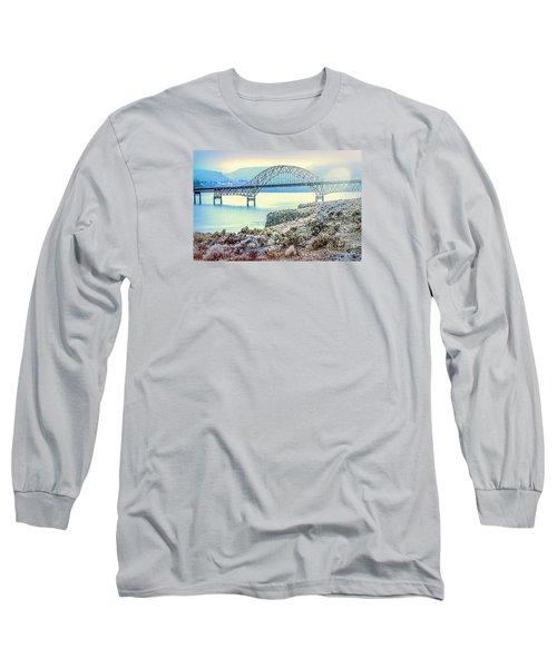 Columbia River Vantage Bridge Long Sleeve T-Shirt