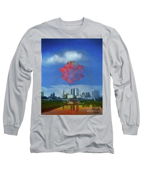Columbus Rose Long Sleeve T-Shirt