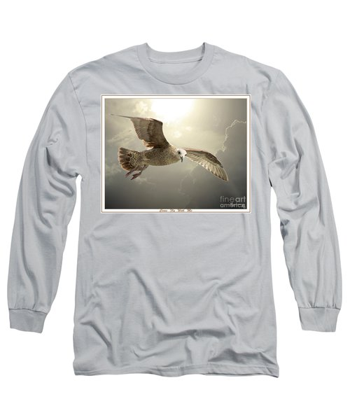 Come Fly With Me Long Sleeve T-Shirt by Mariarosa Rockefeller