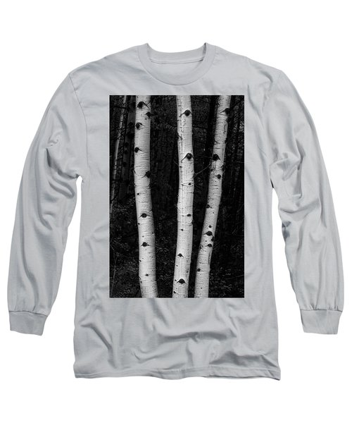 Long Sleeve T-Shirt featuring the photograph Coming Out Of Darkness by James BO Insogna
