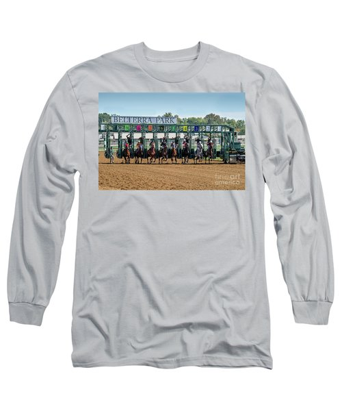 Coming Out Of The Gate Long Sleeve T-Shirt