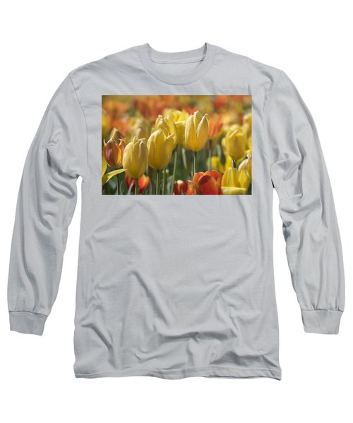 Coming Up Tulips Long Sleeve T-Shirt