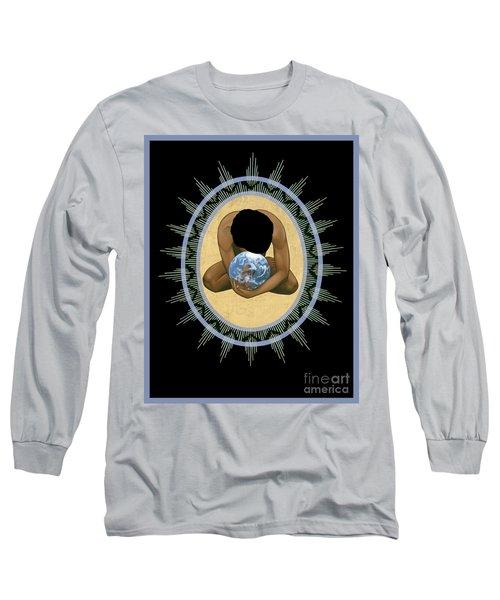 Compassion Mandala - Rlcmm Long Sleeve T-Shirt