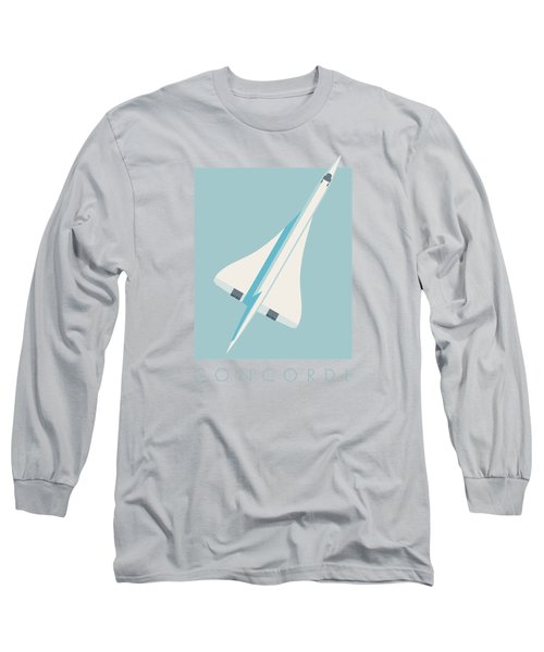 Concorde Jet Airliner - Sky Long Sleeve T-Shirt