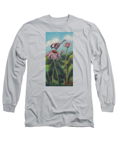 Coneflower Peep Long Sleeve T-Shirt