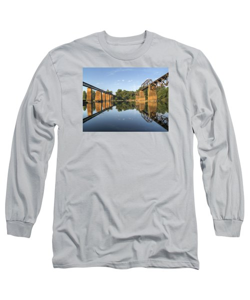 Congaree River Rr Trestles - 1 Long Sleeve T-Shirt