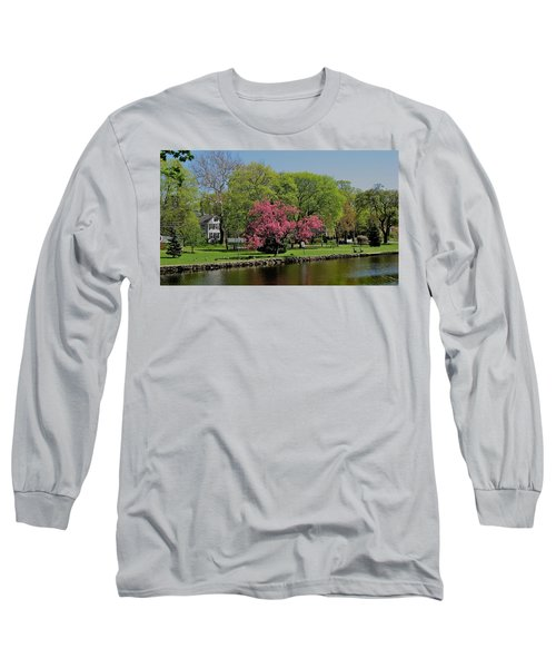 Connecticut Long Sleeve T-Shirt by John Scates