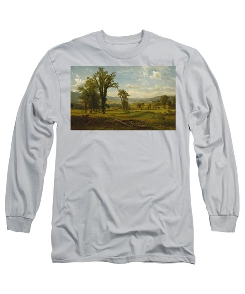 Connecticut River Valley, Claremont, New Hampshire Long Sleeve T-Shirt