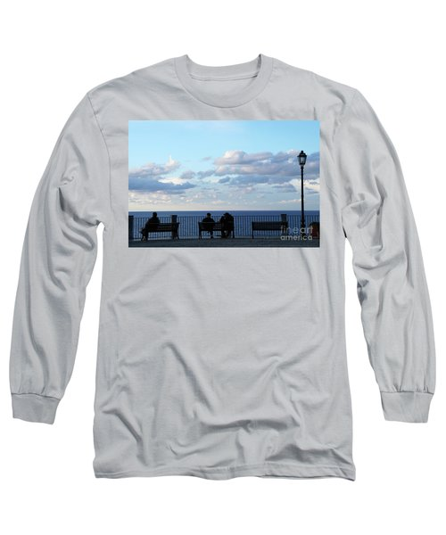 Contemplation Long Sleeve T-Shirt by Ana Mireles