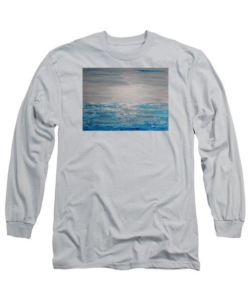 Cool Blue Long Sleeve T-Shirt