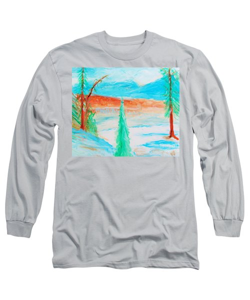 Cool Landscape Long Sleeve T-Shirt