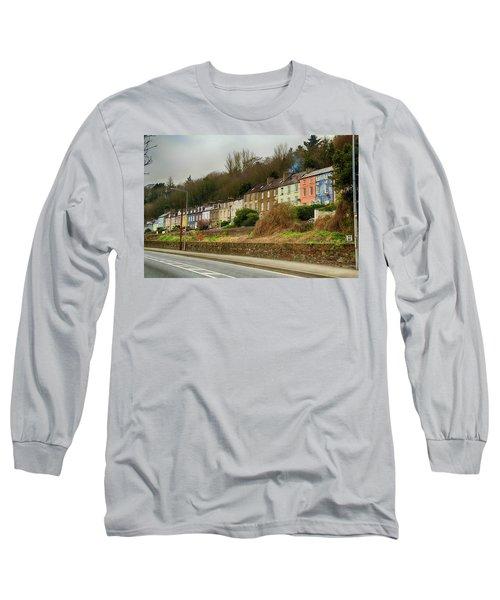 Cork Row Houses Long Sleeve T-Shirt