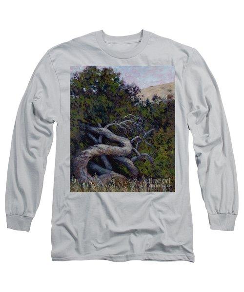 Corkscrewed Long Sleeve T-Shirt