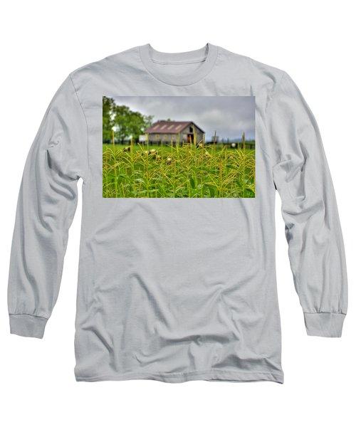 Corn Tops Long Sleeve T-Shirt