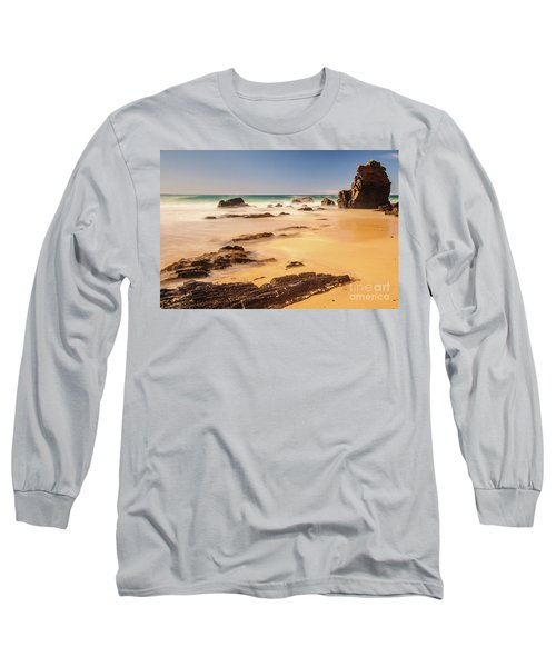 Corunna Point Beach Long Sleeve T-Shirt