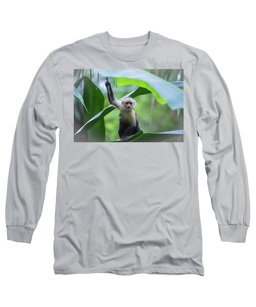 Costa Rica Monkeys 1 Long Sleeve T-Shirt