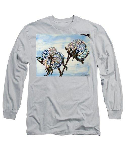 Cotton Long Sleeve T-Shirt by Erika Pochybova