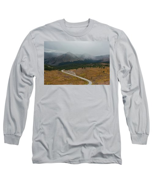 Long Sleeve T-Shirt featuring the photograph Cottonwood Pass #1 by Dana Sohr