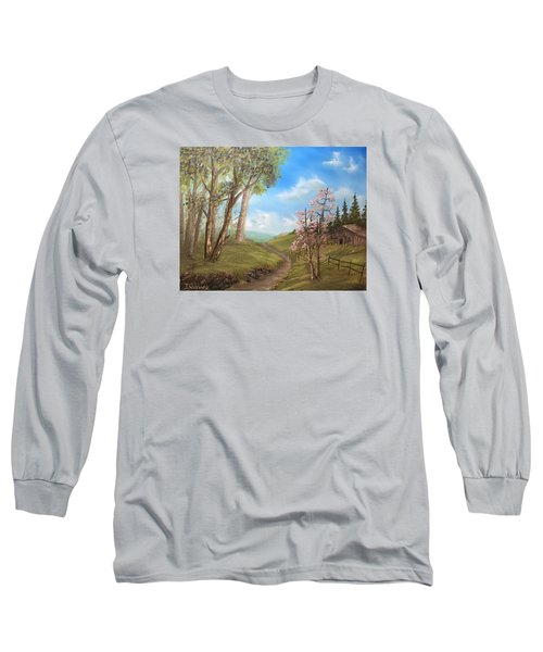 Country Valley  Long Sleeve T-Shirt