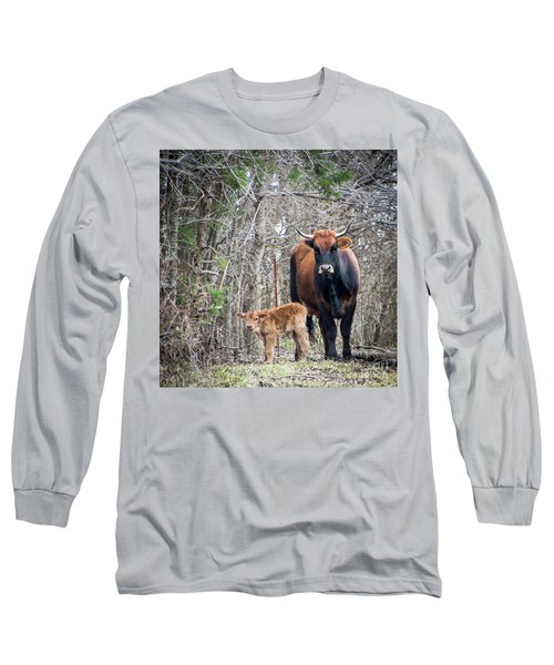 Cow And Calf Long Sleeve T-Shirt