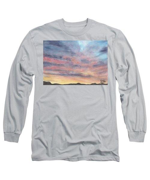 Coyote Sunset Long Sleeve T-Shirt