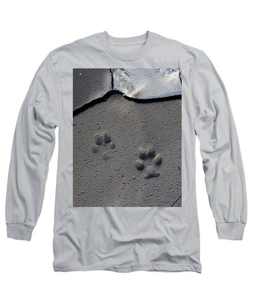 Coyote Tracks Long Sleeve T-Shirt