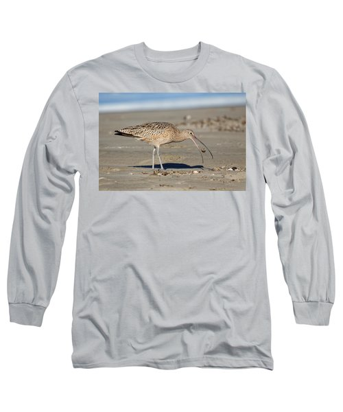 Crab Toss - Curlew Long Sleeve T-Shirt