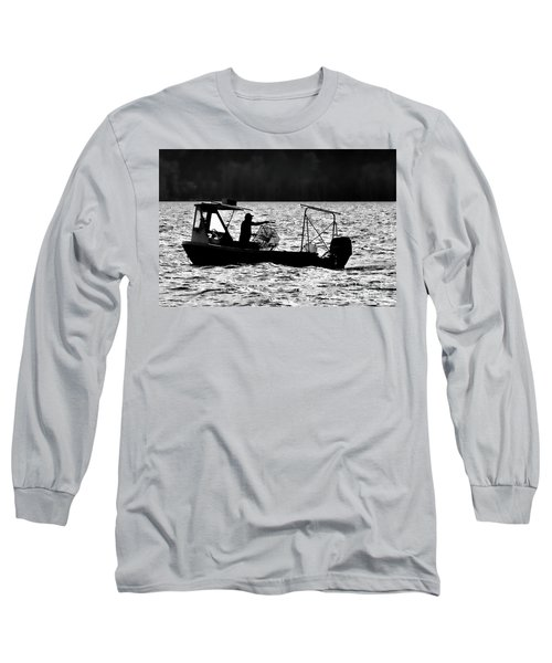Crabbing On The Pamlico Long Sleeve T-Shirt