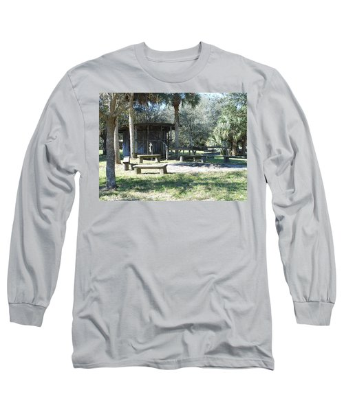 Cracker Cow Hunter Shack Long Sleeve T-Shirt