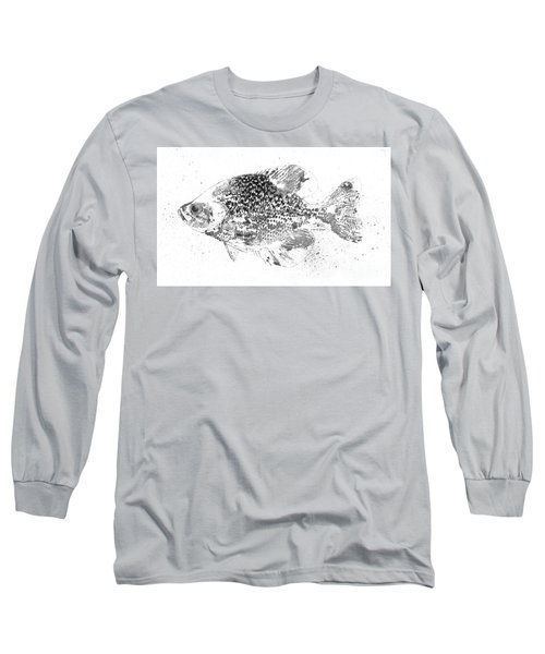 Crappie Abstract Long Sleeve T-Shirt