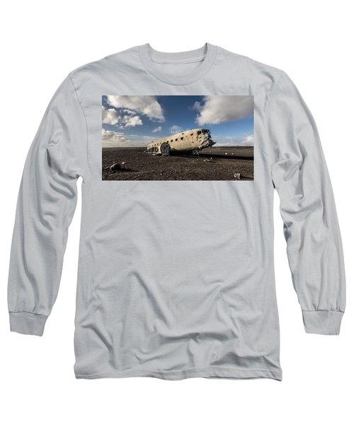 Crashed Dc-3 Long Sleeve T-Shirt